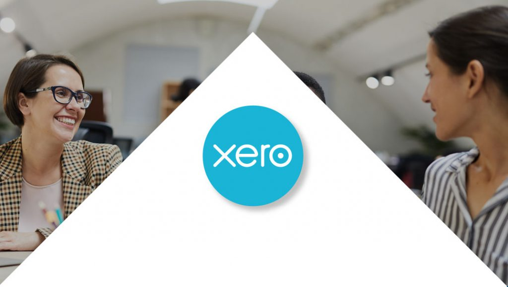 Xero logo centred between company meeting
