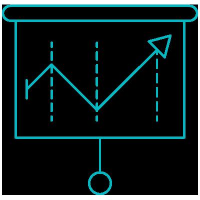 Analytics and data icon