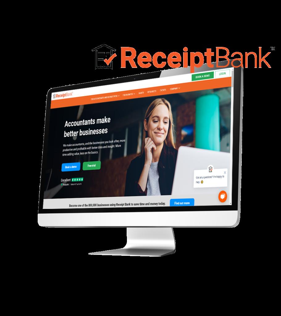 Receipt Bank Desktop Website